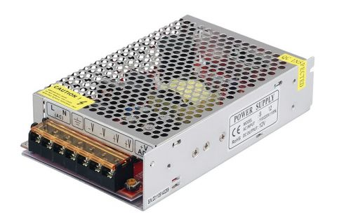 Блок питания для видеонаблюдения 12V 8,33А