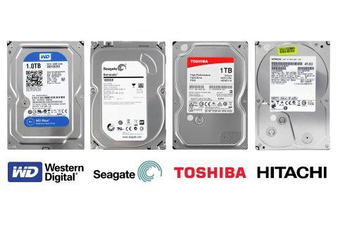 """HDD Жесткий диск объемом 1ТБ (терабайт) desktop 3.5"""" SATA 3"""