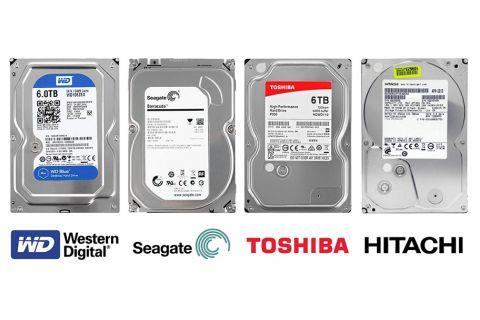 """HDD Жесткий диск объемом 6ТБ (терабайт) desktop 3.5"""" SATA 3"""
