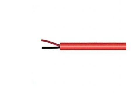 Купить AS-CAB002 нг (А) LS 2х 0.22 мм² сигнальный многожильный медный провод для охранной и пожарной сигнализации и прокладке электричества красного цвета, производитель ramcro