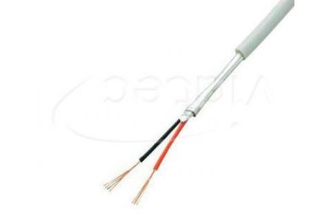 Купить сигнальный многожильный экранированный кабель для видеодомофона ES-02S-022 2х 0.22 мм² (белый) ELETEC в СПб
