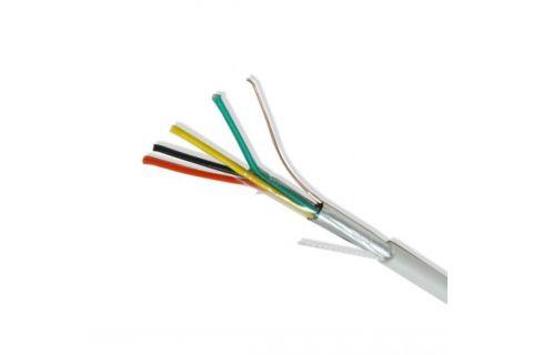 Купить сигнальный многожильный экранированный кабель для видеодомофона ES-04S-022 4х 0.22 мм² (белый) ELETEC в СПб