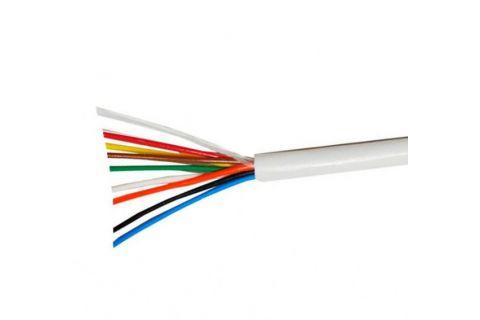 Купить сигнальный многожильный кабель для видеодомофона ES-08-022 8х 0.22 мм² (белый) ELETEC в СПб