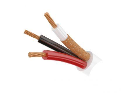 Купить сигнальный многожильный кабель для видеодомофона ШВЭВ 3х0.2 мм² (белый) ELETEC в СПб