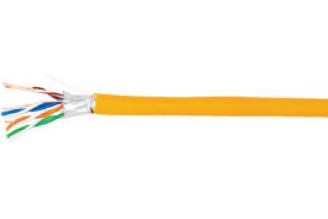 SFTP 7 Eletec 4x2xAWG23 нг(А)-HF - Экранированная витая пара , серого цвета, бухта, 305м, категории 7, производитель Eletec