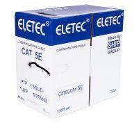 UTP 5E Eletec 4x2xAWG24 с тросом (уличный)