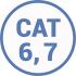 Кабель витая пара 6 и 7 cat категории UTP FTP