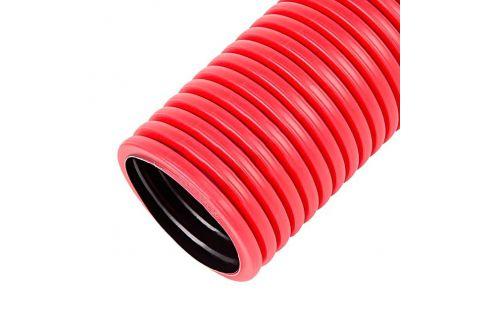 Труба гибкая двустенная гофрированная д. 63 мм для кабеля и электропроводки