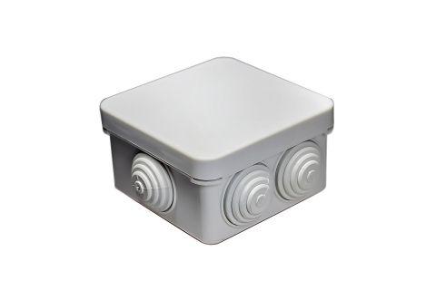 Коробка распаячная 100x100x50, серая, Степень защиты IP54