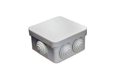 Коробка распаячная 80x80x40, серая, Степень защиты IP54