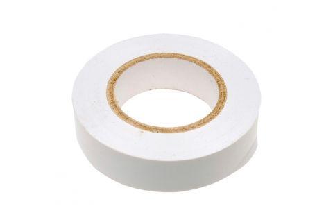 Изолента ПВХ 15x20x0,13, цвет белый, изолента 15мм х 20м