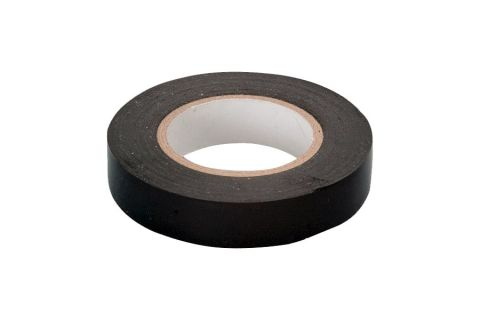 Изолента ПВХ 15x20x0,13, цвет черный, изолента 15мм х 20м