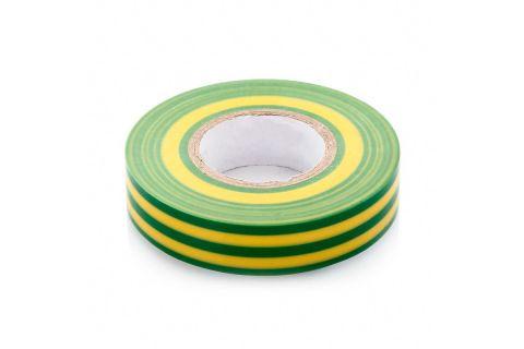 Изолента ПВХ 15x20x0,13, цвет желто-зеленый, изолента 15мм х 20м