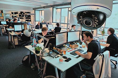 Законно ли устанавливать видеонаблюдение на работе?