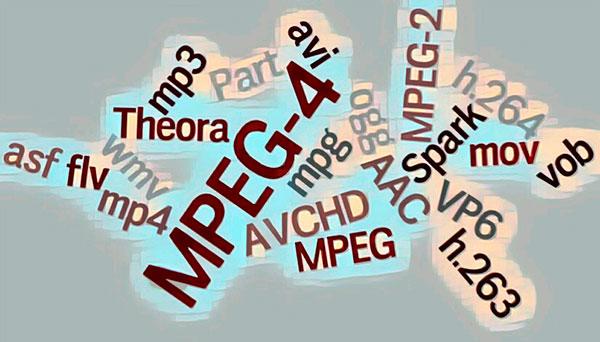 Многообразие аудио и видео форматов файлов