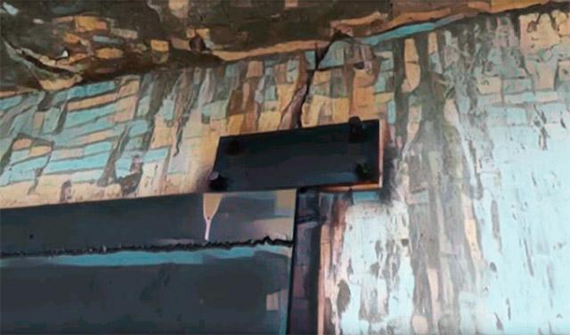 Металлические пластины для защиты гаража