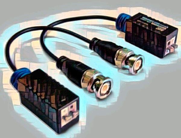 Приемо-передатчик аналогового сигнала по витой паре.