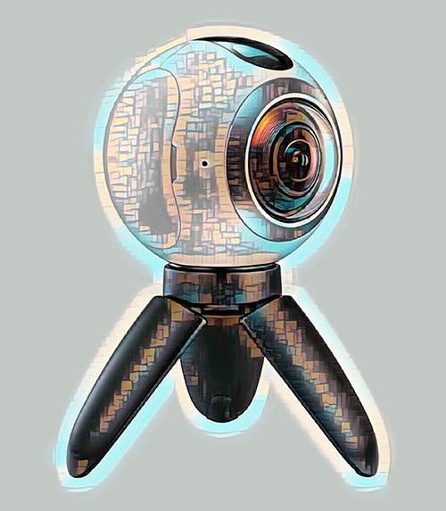 Беспроводная wifi камера на ножках