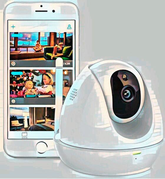 Домашняя вай фай камера наблюдения с удаленным просмотром