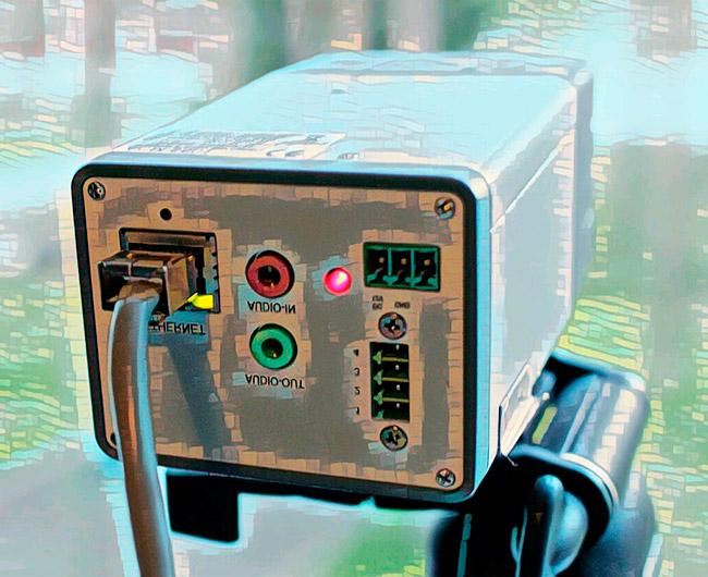 Подключение ip камеры по PoE