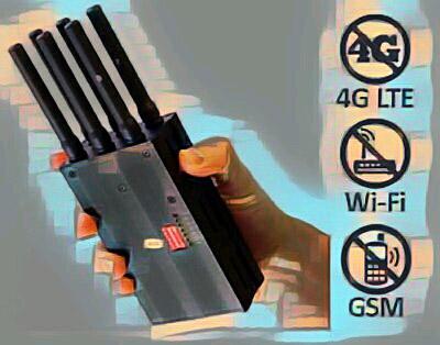 Глушилка джаммер сотового сигнала 3g 4g lte wi-fi gsm