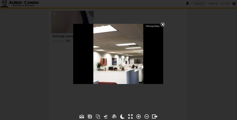 Как сделать камеру видеонаблюдения из телефона с помощью программы Alfred