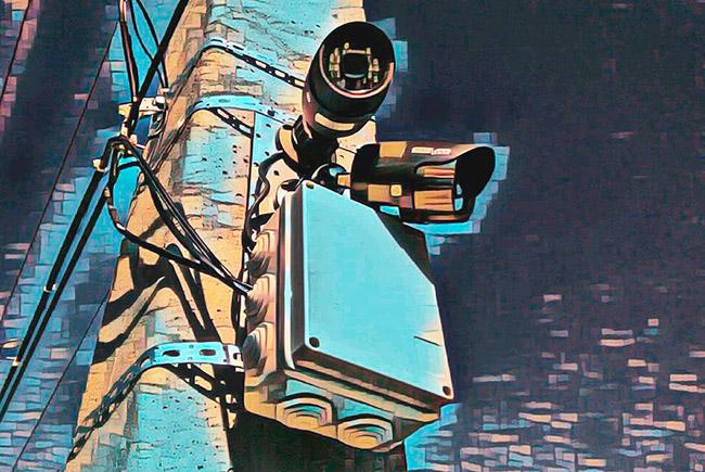 Коммутация камеры видеонаблюдения в распределительной коробке