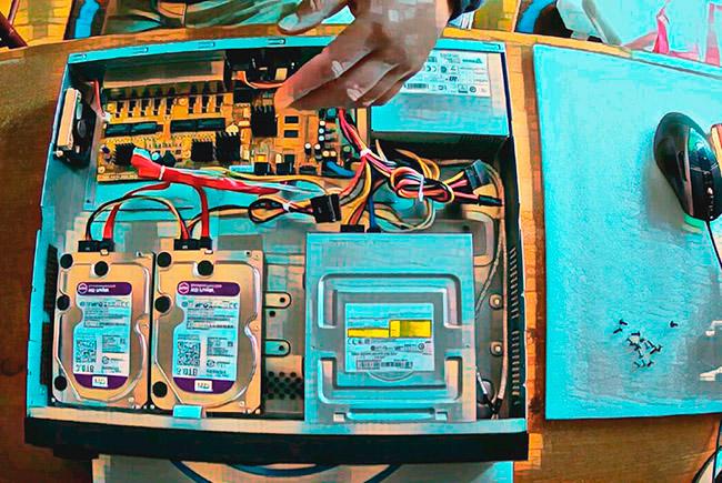 Установка жесткого диска в видеорегистратор