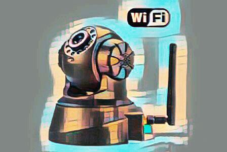 Беспроводная Wi-Fi камера видеонаблюдения