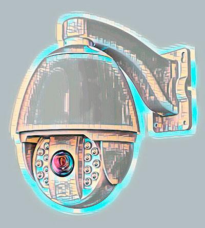 Поворотная PTZ камера