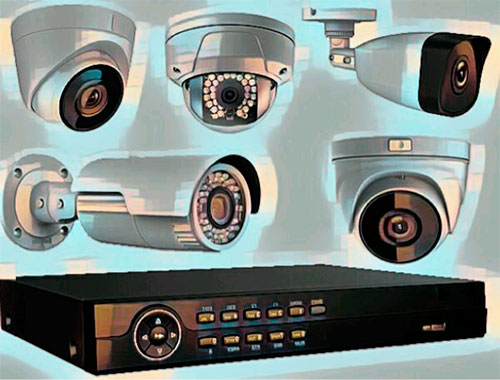 IP камеры для видеонаблюдения и видеорегистратор