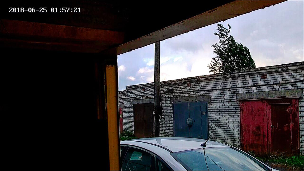 Максимально возможный угол обзора камеры видеонаблюдения Roka R-2055.